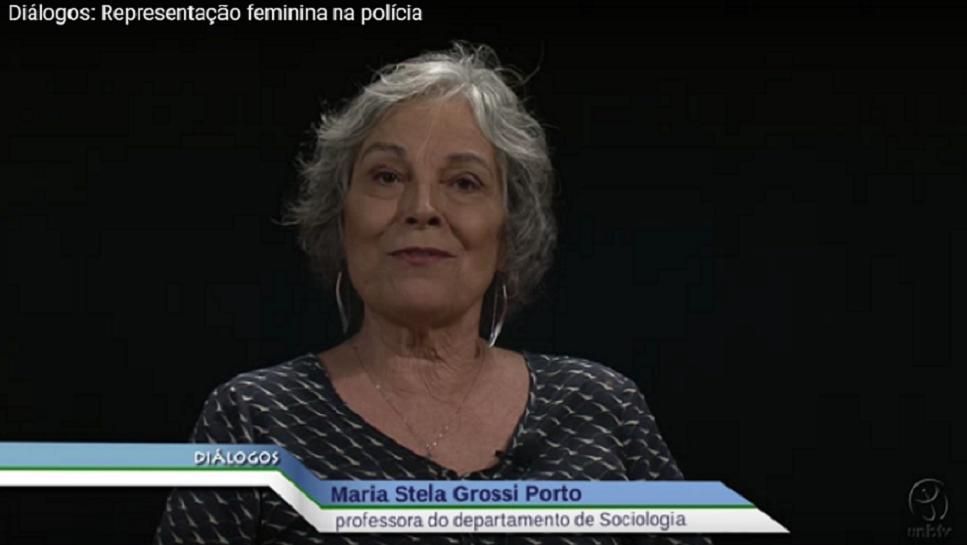 A UnBTV promove uma edição do programa Diálogos com a professora de Sociologia Maria Grossi Porto e a sua ex-orientanda Kamila Figueira sobre a representação feminina na policia